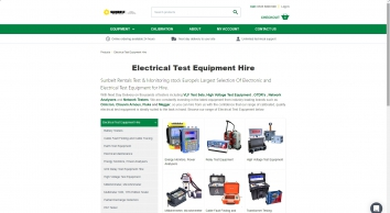 Electrical Test Equipment Hire | Next Day Delivery  | Hire | Inlec