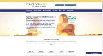 Medical Travel Insurance | 200+ Conditions Covered | Award Winning