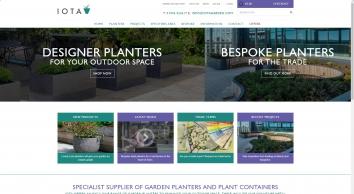 Contemporary Planters, Plant Pots & Commercial Plant Containers - IOTA UK