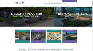 Contemporary Planters, Plant Pots & Commercial Plant Containers - IOTA UK