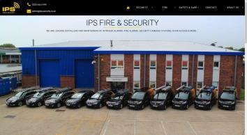 Burglar Alarms, Security Cameras, Fire Alarms & Door Entry Systems   IPS Fire & Security