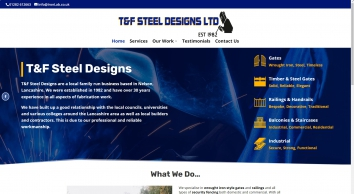 T & F Steel Designs