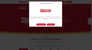Web Design Cornwall, Website Development   IT-OK   IT-OK Limited