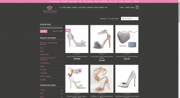 Crystal Couture Ladies Shoes & Assessories