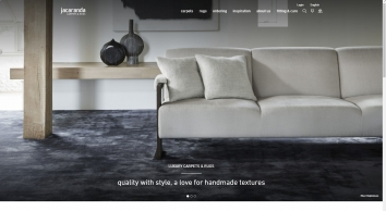 Jacaranda floorcoverings - rugs and broadloom carpets - stylish, hand-woven, contemporary and pure wool. High End, Bespoke, Handmade, Flooring