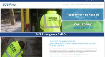 Blocked Drains Cheshire | Drain Repairs Cheshire | James Drain Solutions