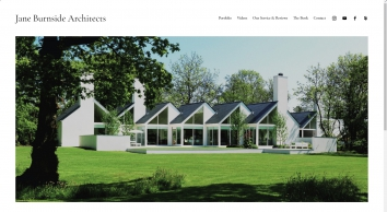 Bespoke house designs in Northern Ireland by Jane D Burnside Architects