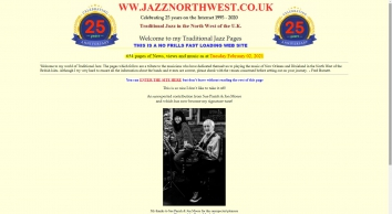 Traditional Jazz in NW UK