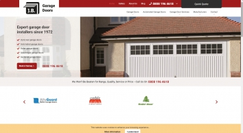 J. B. Garage Doors - The first choice for supply and service of Garage Doors and Automated Gates in Kent and the South East