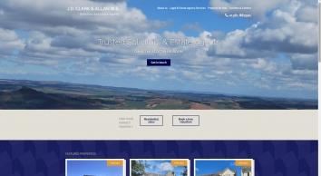 J.D. Clark & Allan W.S. Solicitors and Estate Agents - Duns, Berwickshire - Homepage