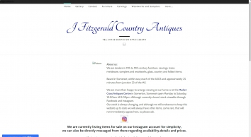 J Fitzgerald Country Antiques - Home