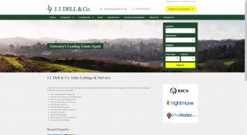 J.J. Dell & Co. Sales Lettings & Surveys | J. J. Dell