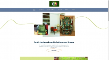Contact our furniture upholsterer at JJ Geary & Sons