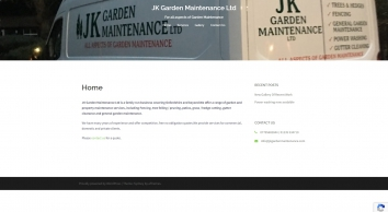 J K Garden Maintenance Ltd