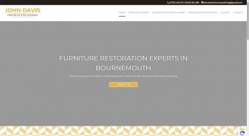 Furniture restoration| John Davis French Polishing| Bournemouth
