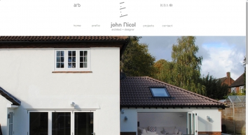 John Nicol | Architect & Designer | T:  01727 838664  |  M: 07867 787378