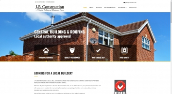 J.P. Construction, Building & Maintenance, Flintshire & Chester