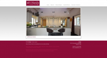 J S Hardy - Cabinet makers and designers of fine furniture and interiors. Specialists in bespoke handmade kitchens, luxury bathrooms and studies. Woodbridge, Suffolk.