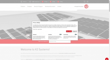 Mounting systems for solar technology - K2 Systems