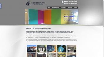 K & M Decorating Services Ltd