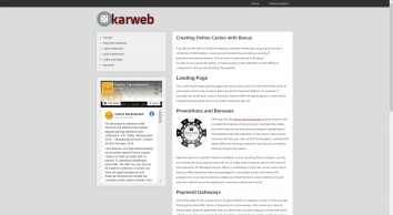 KAR web management
