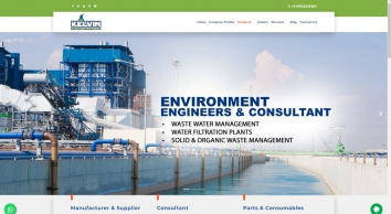 Nanofiltration Plant, Water Treatment Plants in India