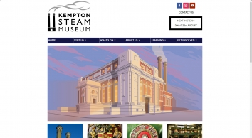 Kempton Steam - Home of the World\'s largest operating Triple Expansion Steam Engine