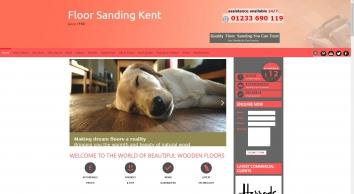 Floor Sanding Kent, TN24 - Affordable Wood Floor Resurface, Professional Restoration.