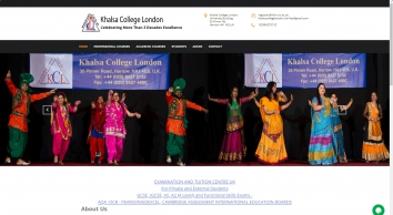 Khalsa College London - Celebrating more than  3 decades excellence