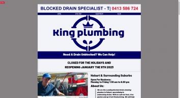 Blocked Drain Plumbers | King Plumbing | Hobart Tasmania