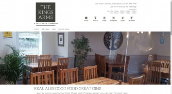 Kings Arms Inn East Stour | Country pub with contemporary interior in rural Dorset | Pub food in a Scottish atmosphere | Gift vouchers | Shaftesbury | Duncliffe Wood | Gillingham Town Football Club | Sponsors | Shaftesbury and Gillingham petanque t