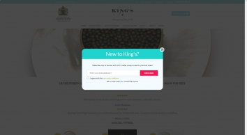 King\'s Fine Food: Home page