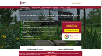 Kings Landscapes Experts in Design & Landscaping | United Kingdom