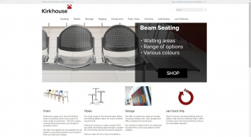 Kirkhouse Commercial Chairs, Tables & Office Furniture For Business, Community & Education