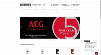 Kitchen Appliances 123 | Integrated Kitchen And Free standing Electrical Appliance Product Specialist. - Kitchenappliances123.co.uk