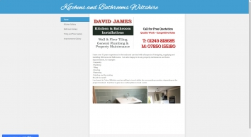David James Kitchens & Bathrooms Installations