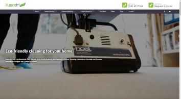 Pressure Washing, Carpet & Upholstery Cleaning - Glasgow - Kleen-Dri