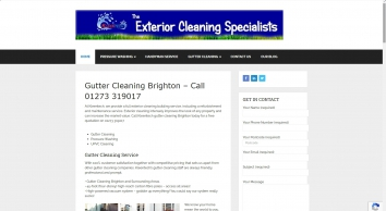 Exterior & Gutter Cleaning Brighton - Call 01273 319017