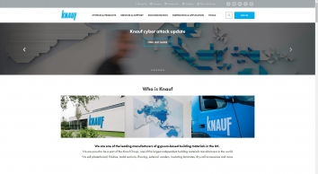 Knauf: Suppliers of gypsum-based building materials in the UK - Knauf