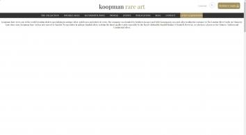 Koopman Rare Art  -  Home