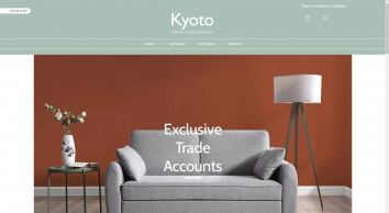 Kyoto - manufacturer and importer of sofabeds, futons, upholstered beds and so much more