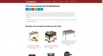 LaBarbacoa: TODO sobre las Mejores BARBACOAS en el Mercado !!
