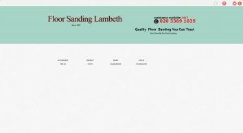 Floor Sanding Lambeth, SE11 - Affordable Wood Floor Resurface, Professional Restoration.