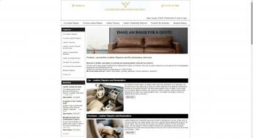 Buffalo Leather Repair & Care