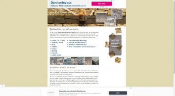 Reclaimed Stone and Reclamation Yard Lancashire, North West