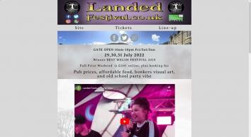 Landed Festival, Powys, Wales UK