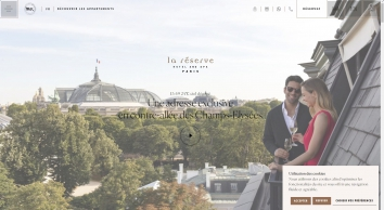 La Réserve Paris   Hôtel & Spa 5 Étoiles Paris