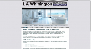 L A Whittington Plumbing & Installation | Isle of Wight
