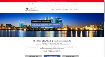 Leak Detection Specialists, Water Leak Detection UK 0344 809 4968