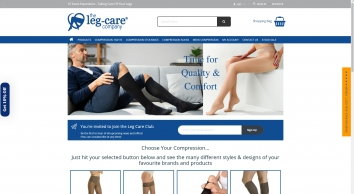 Compression Tights & Support Hosiery from The Leg Care Company